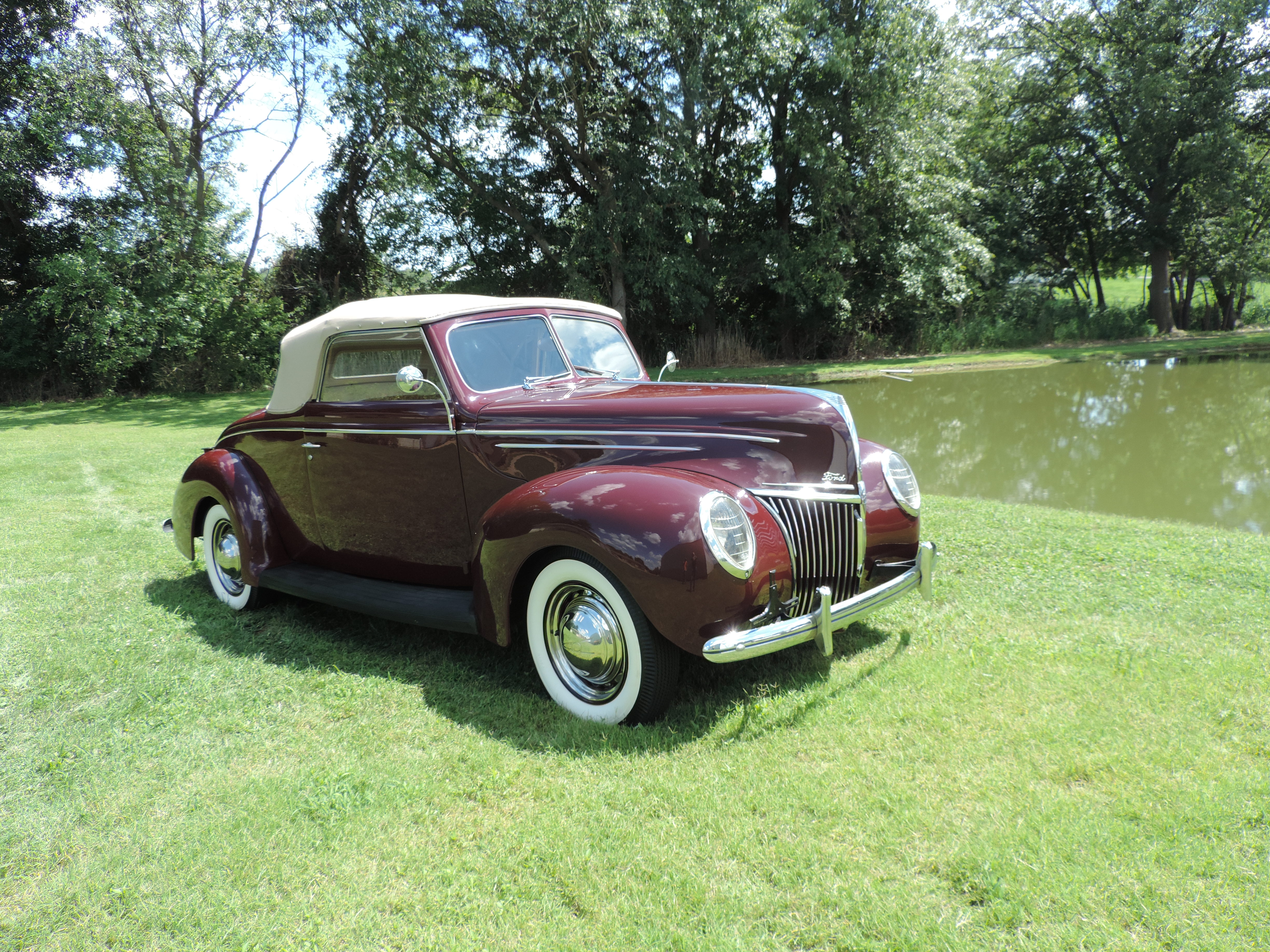 Old Chevy Cars >> 1939 Ford Deluxe Rumble Seat Convertible | Glen Weeks Classic Cars